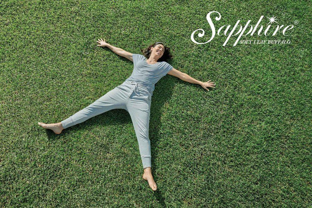 Sapphire Soft Leaf Buffalo Lawn Melbourne