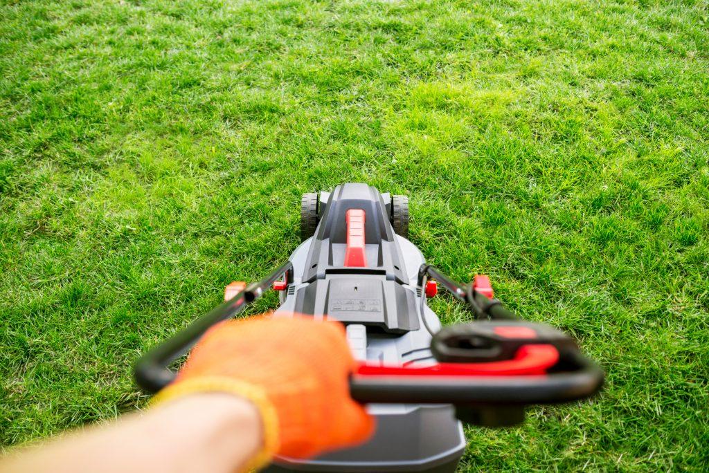 lawn mower POV