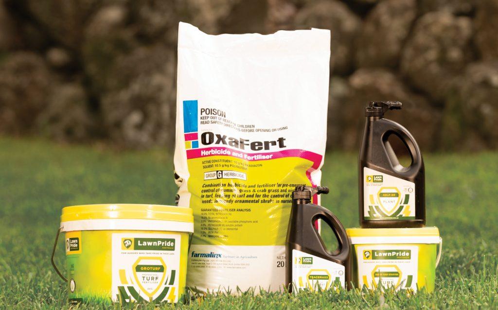 lawn fertilisers
